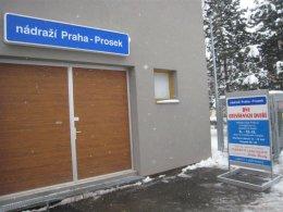 Den otevřených dveří nádraží Praha - Prosek
