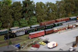 Kolejiště H0e JHMD - Dům vláčků