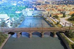 Negreliho viadukt ve velikosti N 1:160