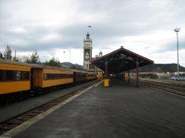 Nový Zéland I: nádraží Dunedin