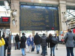 Pařížské nádraží Paris - Gare du Nord